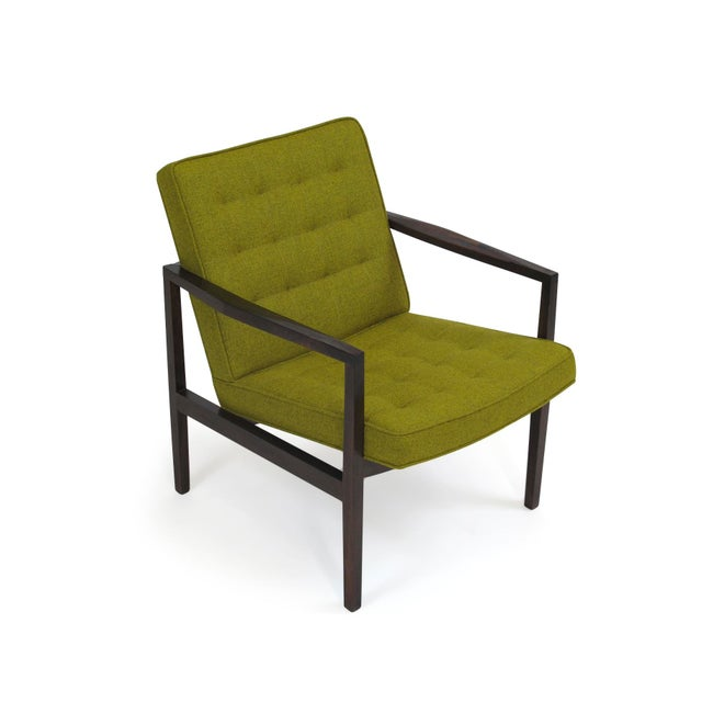 Forma Brazil São Paulo midcentury lounge chair with beautifully grained Brazilian Rosewood frame newly upholstered in...