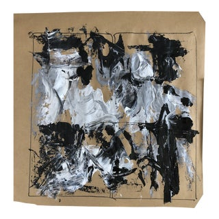 Stage Iv, Light Beam, Abstract Painting by Erik Sulander For Sale