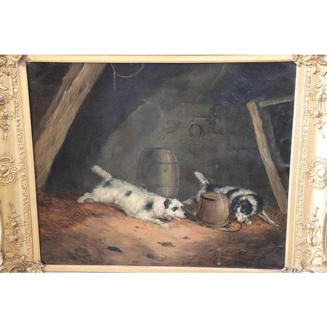Important refined oil painting on canvas from a collection of 19th century works. George Armfield Smith (1808-1893)...