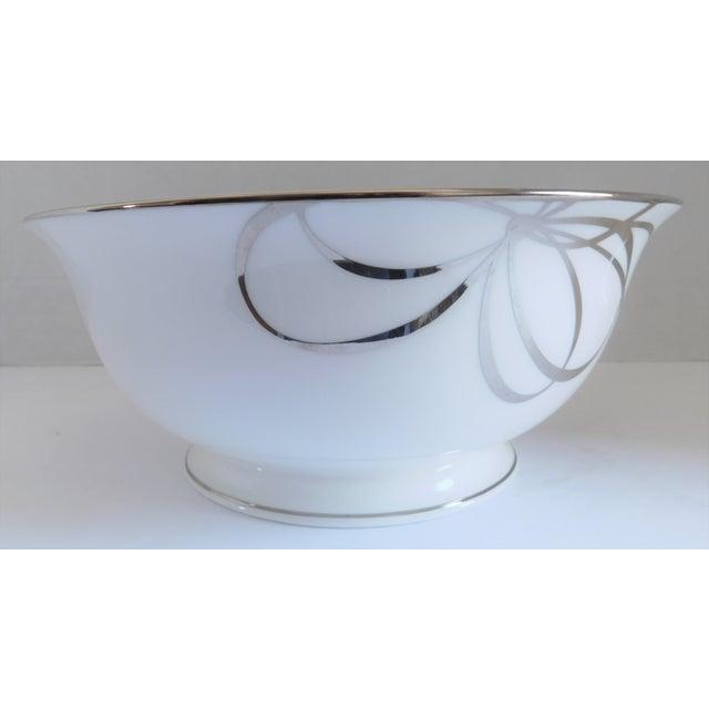 Kate Spade Belle Boulevard/Lenox White Porcelain Bowl For Sale In New York - Image 6 of 10