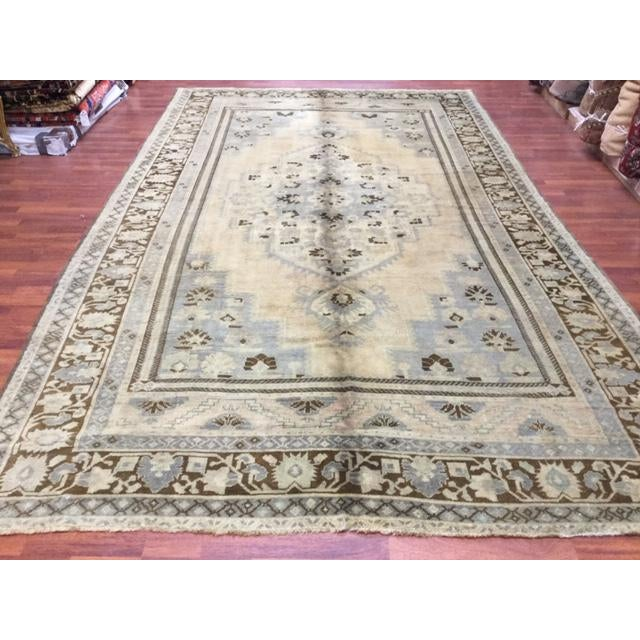 Vintage Turkish Village Rug From Kaspinar Area In Central Turkey, Circa 1950. This Rug Is In Excellent Condition With All...
