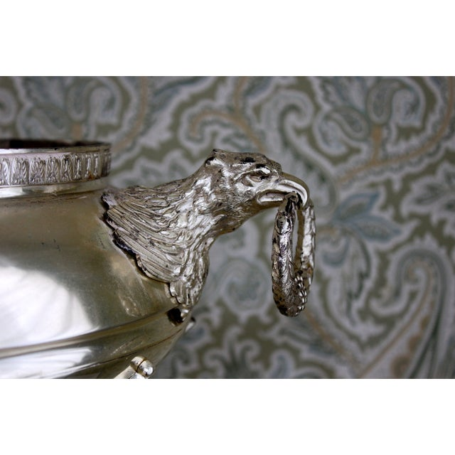 Silver-Plate Eagle Handle Jardinieres - A Pair - Image 3 of 4