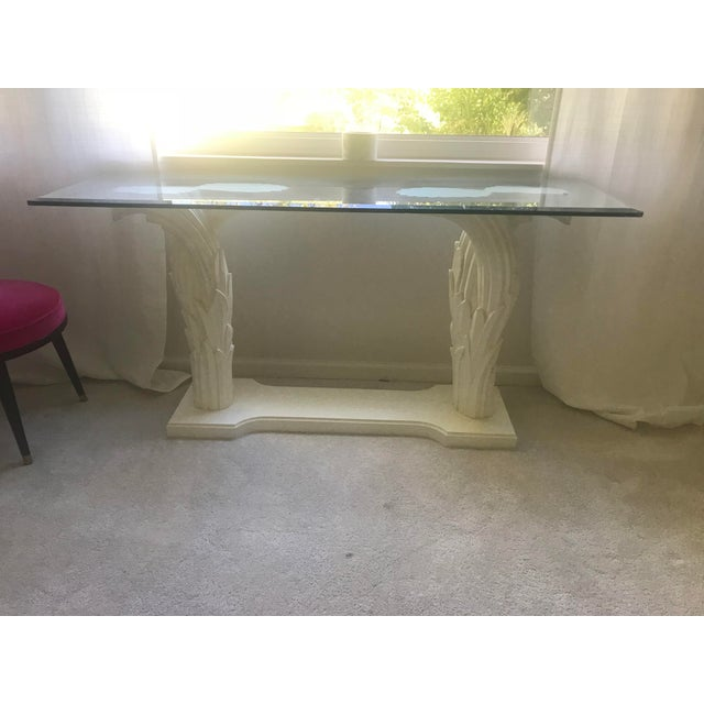 Serge Roche Style Palm Tree Console - Image 2 of 7