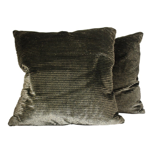 Beacon Hill Gold Pillows - a Pair For Sale