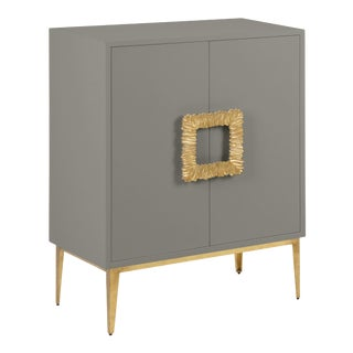 Mitchell Cabinet, Chelsea Gray For Sale