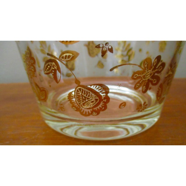 Vintage Culver Gold Ice Bucket Mid Century Modern Hollywood Regency For Sale - Image 10 of 11