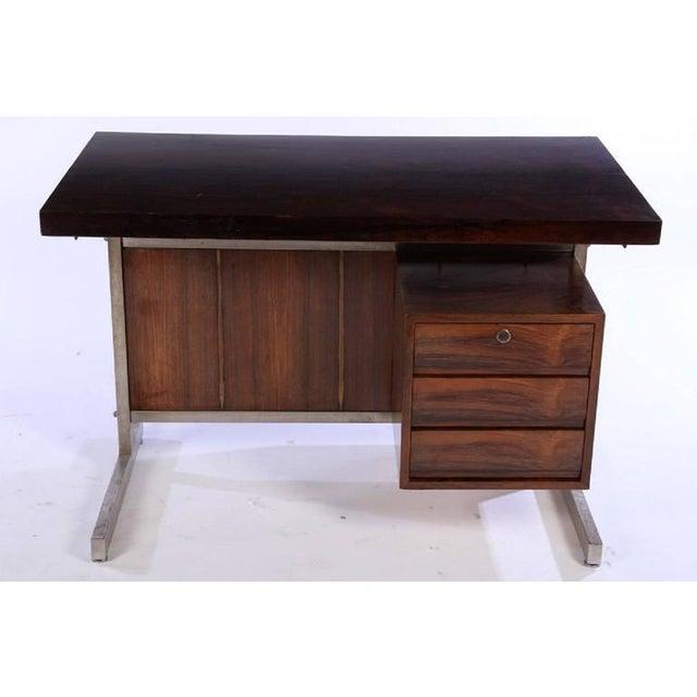 Edward Wormley style rosewood writing desk.