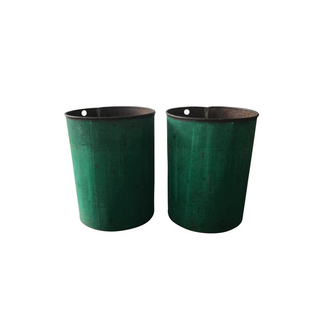 Vintage Sap Buckets - A Pair - Image 5 of 5