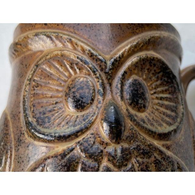 Mid-Century Modern Vintage Holt Howard Owl Mug For Sale - Image 3 of 8