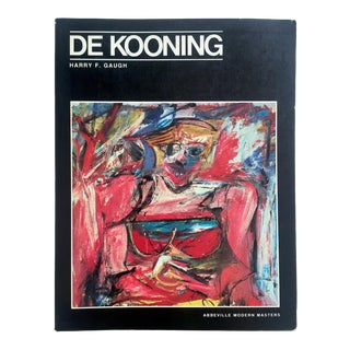 """ Willem De Kooning "" Rare Vintage 1983 1st Edtn Abstract Expressionist Collector's Monograph Art Book For Sale"