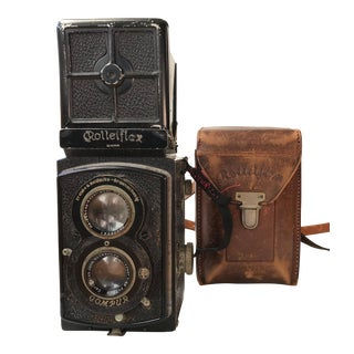 Circa 1935 Rolleiflex Standard Camera