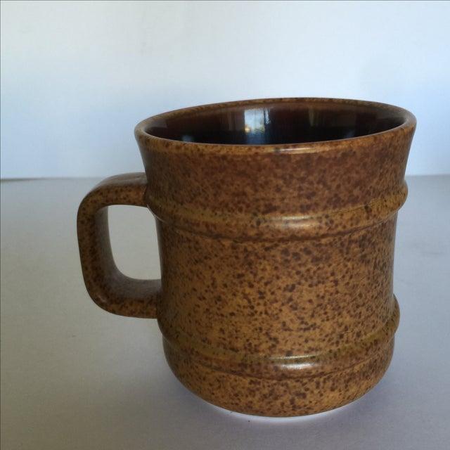 Vintage Pottery Mugs - Set of 5 - Image 10 of 11