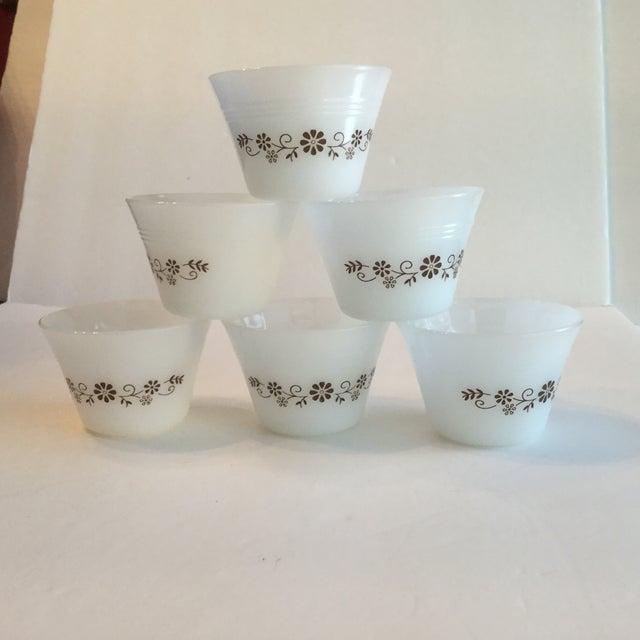 Milk Glass Custard Cups - Set of 6 - Image 4 of 10