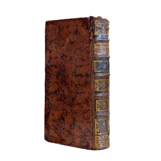 18th Century French Leather Bound Book