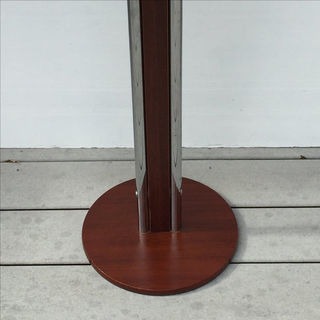 Chrome & Wood Men's Valet Stand - Image 5 of 7