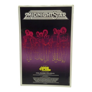 1981 Midnight Star Concert Poster For Sale