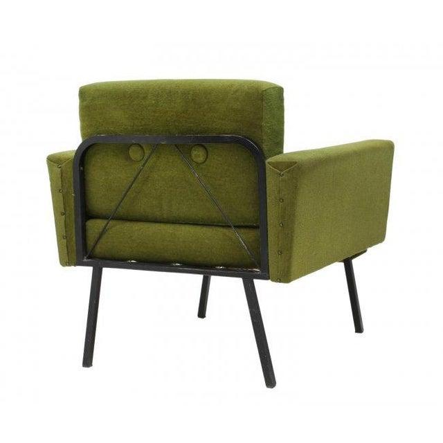 Italian Mid Century Modern Club Chairs - Pair - Image 5 of 5