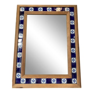 Ceramic Tile Wall Mirror For Sale