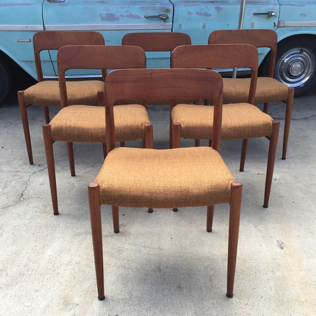 Niels Jl Moller #75 MCM Dining Chairs - Set of 6 - Image 2 of 7