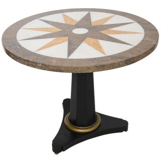 Neo-Classical Center Table Specimen Table Top For Sale