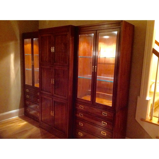 Ethan Allen Canova Collection Wall Unit - Image 8 of 9