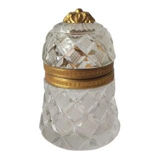 French Cut Crystal Box