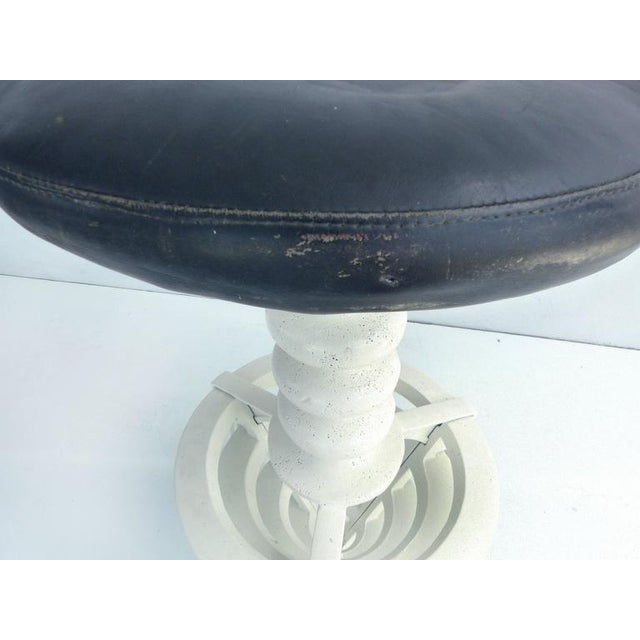 20th Century Industrial Cast Iron Interchangeable Stools to Tables For Sale - Image 9 of 10