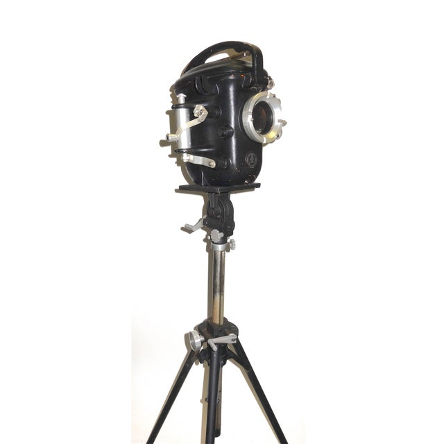 Bolex Underwater Cinema Camera Housing With Tripod, Vintage, Classic, Sculpture For Sale - Image 13 of 13