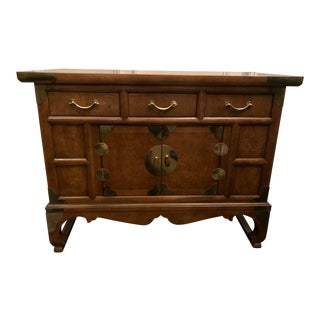 Mid 20th Century Chinoiserie Storage Cabinet For Sale