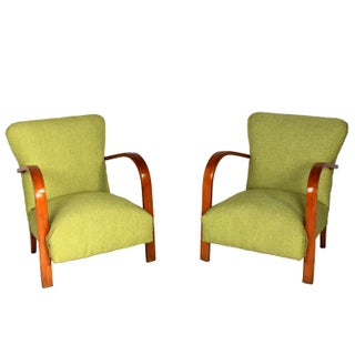 Vintage Italian Lounge Chairs - Pair For Sale