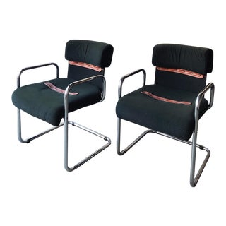 1970's Italian Armchairs by Guido Faleschini for Mariani For Sale