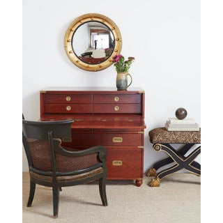 Pair of Mid Century Mahogany Campaign Style Writing Chests Preview