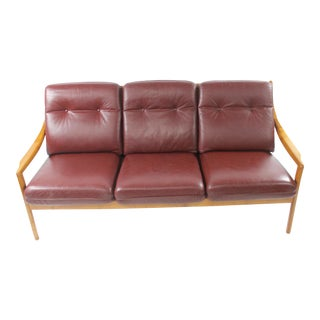 Mid-Century Modern Danish Walnut Sofa