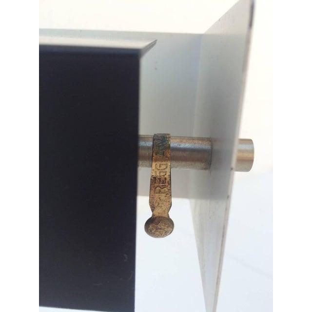 Metal Italian Table Lamp by Studio Reggiani For Sale - Image 7 of 8