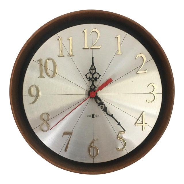 Vintage Howard Miller Model No. 589 Meridian Wall Clock | Chairish