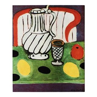 "1946 H. Matisse ""Lemons and the Pewter Jug"" Original Parisian Period Lithograph For Sale"