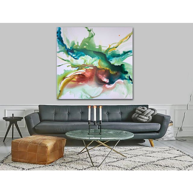 Hustle & Flow Original Abstract Painting - Image 4 of 6