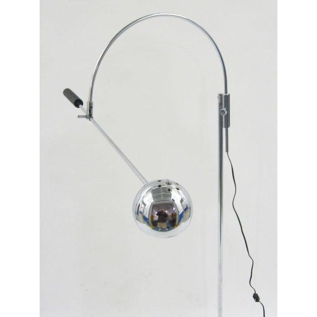 Orbiter floor lamp by Robert Sonneman - Image 9 of 11