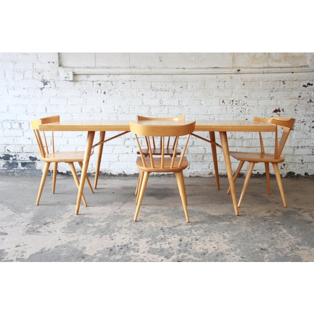 Paul McCobb Planner Group Dining Set for Winchendon Furniture For Sale - Image 10 of 11