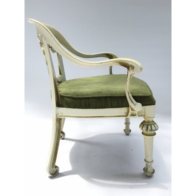 Dorothy Draper Kessler Cast Aluminum Patio Dining Chairs - Set of 5 - Image 3 of 8