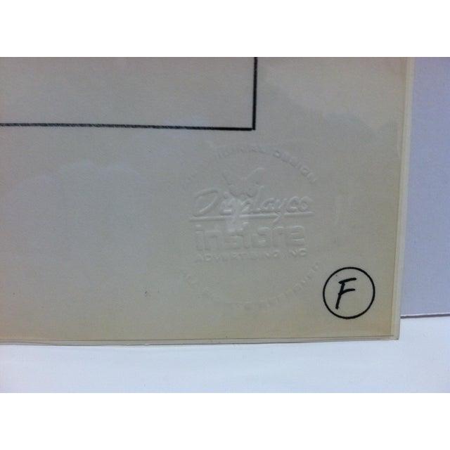 "1980s ""Benadryl"" Displayco East Original Advertising Drawing For Sale - Image 4 of 5"