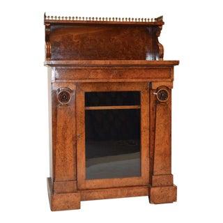 Regency Pollard Oak Cabinet For Sale