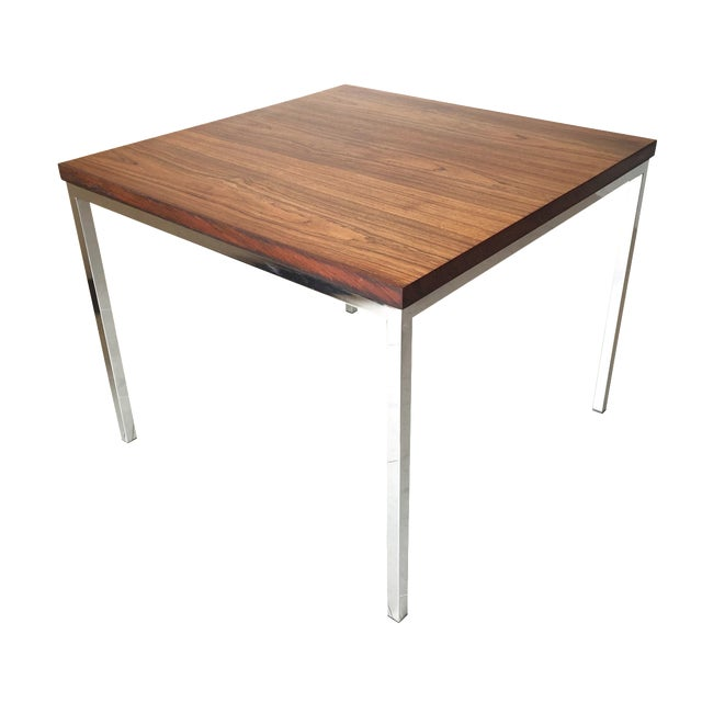 FLorence Knoll Floating Top Rosewood Table For Sale