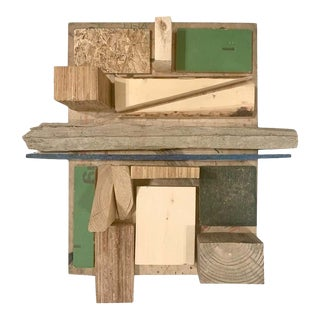 Incredible Wall Hanging Sculpture/ Assemblage / Wood Collage by Judy Engel, 2020 For Sale