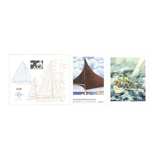Bundle- 3 Assorted Limited Edition Sailing Art Pieces For Sale