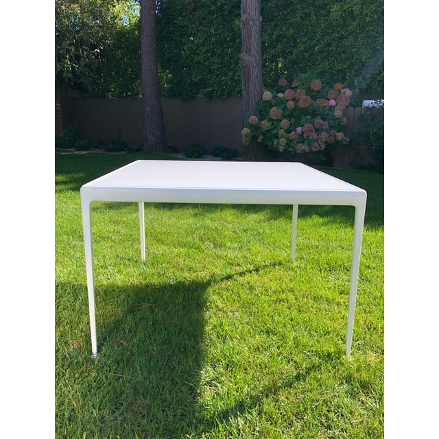 1960s Richard Schultz 1966 Collection Porcelain Outdoor Table For Sale - Image 5 of 5