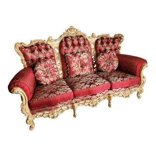 Louis XV/ Rococo Style Sofa For Sale