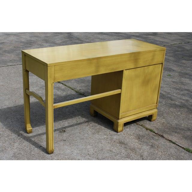 Mid-Century Ming Style Desk Vanity - Image 8 of 11