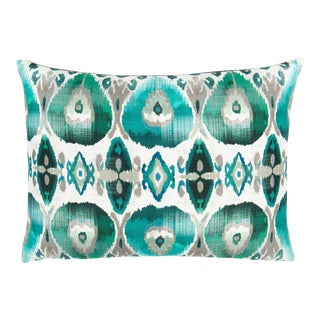 William Yeoward Cuzco Jade Cushion For Sale