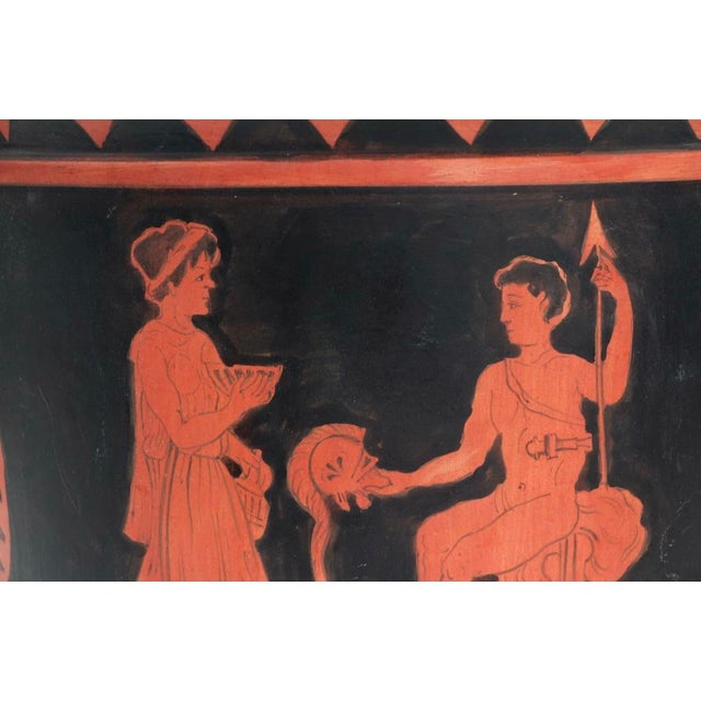 Early 19th Century 19th Century Grand Tour Style Ancient Greek Urn Copy For Sale - Image 5 of 10